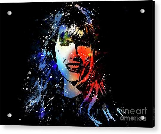 Taylor Swift Art Acrylic Print