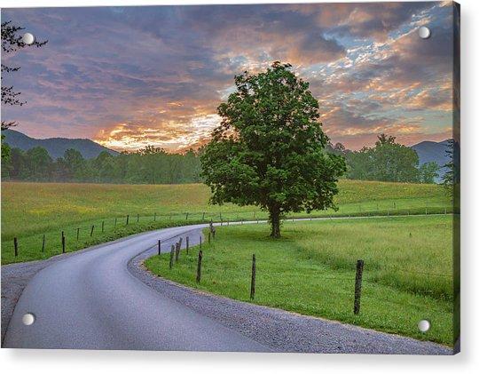 Tennessee Mountain Dew Acrylic Print