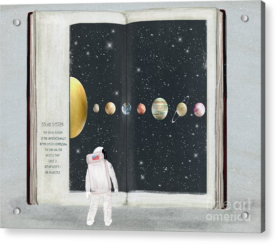 The Big Book Of Stars Acrylic Print by Bri Buckley
