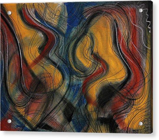 The Bow Acrylic Print