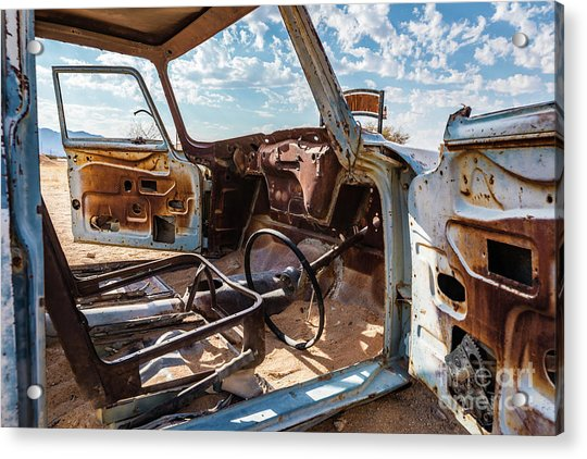 The Car Is Open, Please Come In Acrylic Print