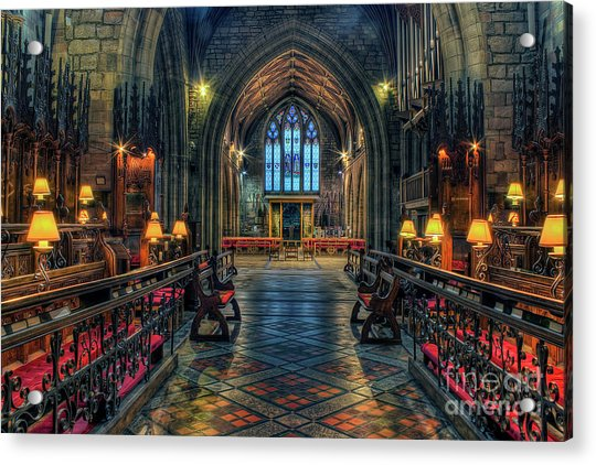 The Cathedral Church Of Saints Asaph And Cyndeym Acrylic Print