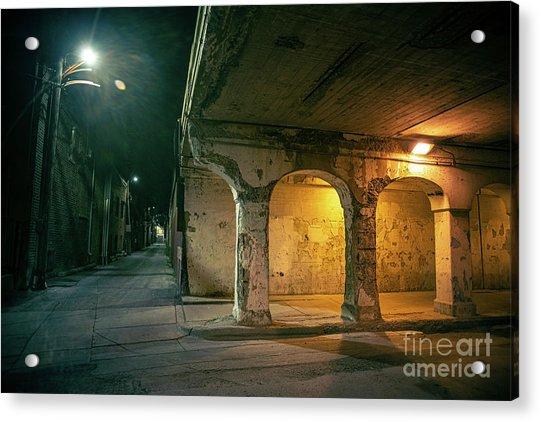 The Dark Corner Acrylic Print