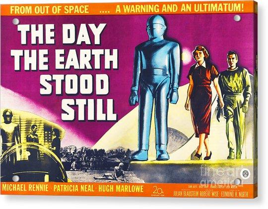 The Day The Earth Stood Still 20190922 Acrylic Print
