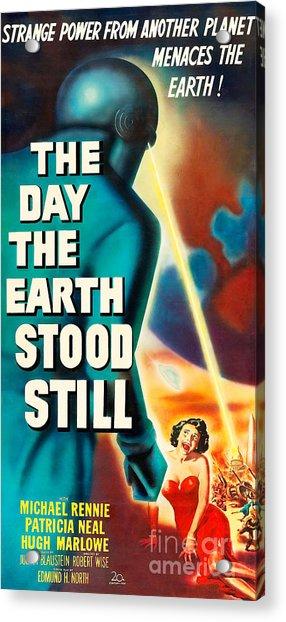 The Day The Earth Stood Still 20190922v2 Acrylic Print
