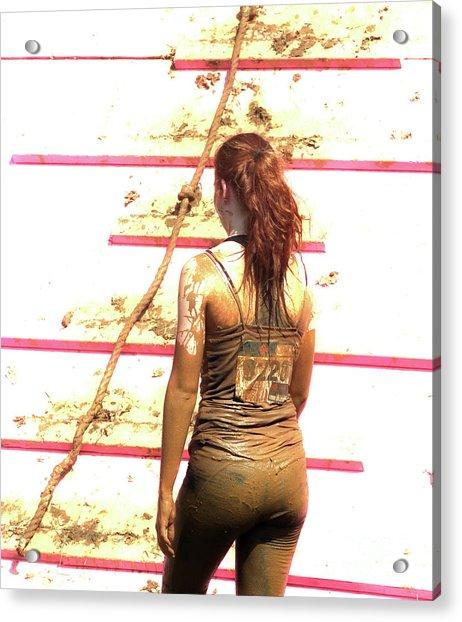 The Endurance Of Beauty  Acrylic Print by Steven Digman
