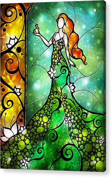 The Frog Prince Acrylic Print