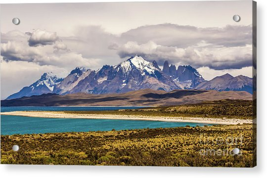 The Mountains Of Torres Del Paine National Park, Chile Acrylic Print