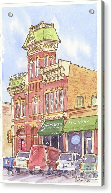 The Old Fire House Acrylic Print