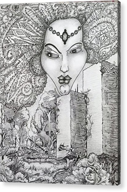 The Queen Of Oz Acrylic Print