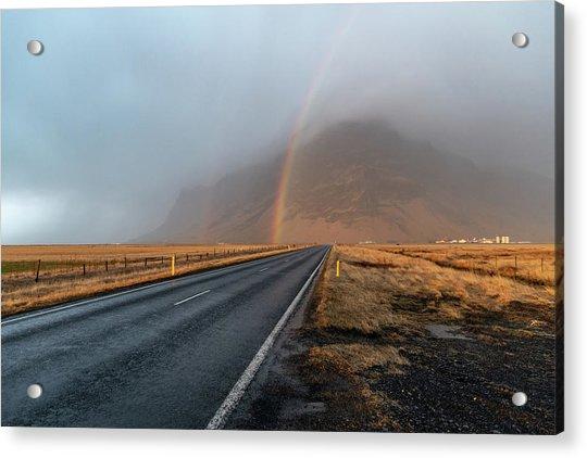 The Rainbow Road Acrylic Print