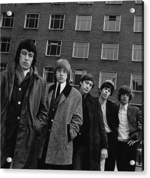 The Rolling Stones Acrylic Print by Evening Standard