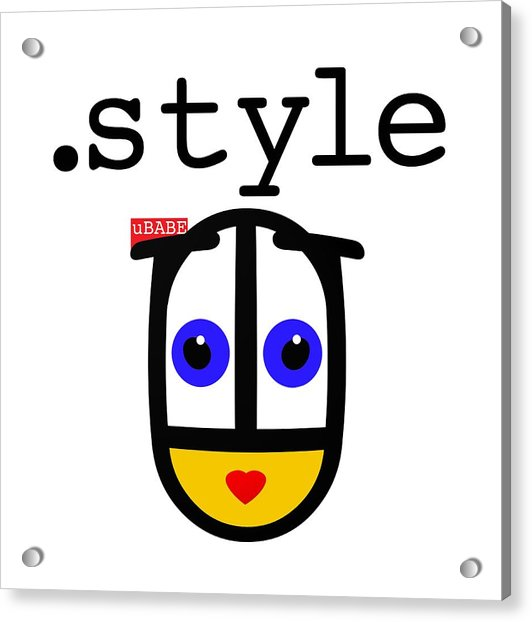 The Style Acrylic Print