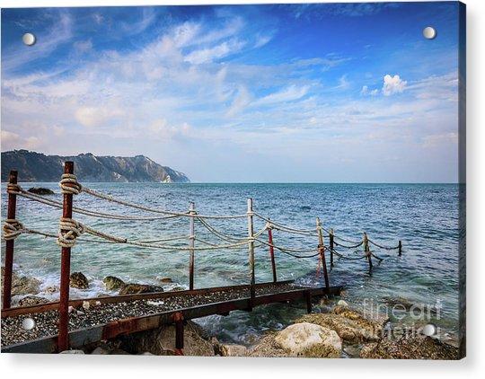 The Winter Sea #2 Acrylic Print
