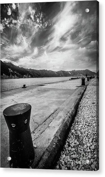 The Winter Sea #3 Acrylic Print