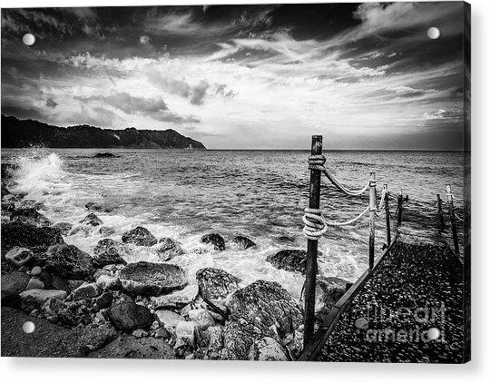 The Winter Sea #4 Acrylic Print