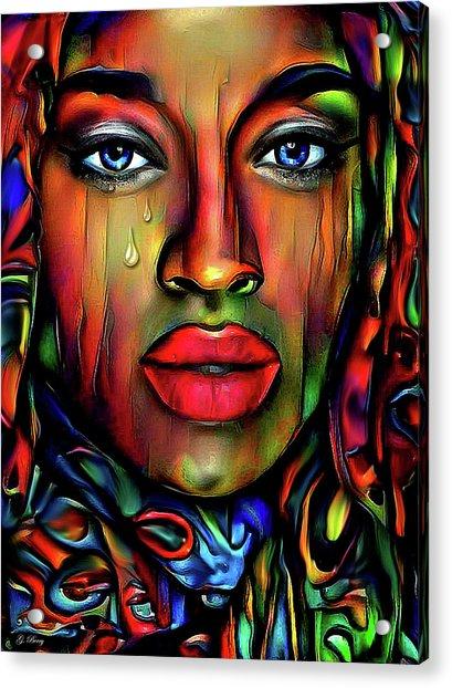 These Tears Acrylic Print