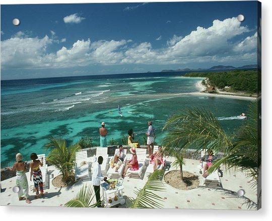 Tropical Mustique Acrylic Print