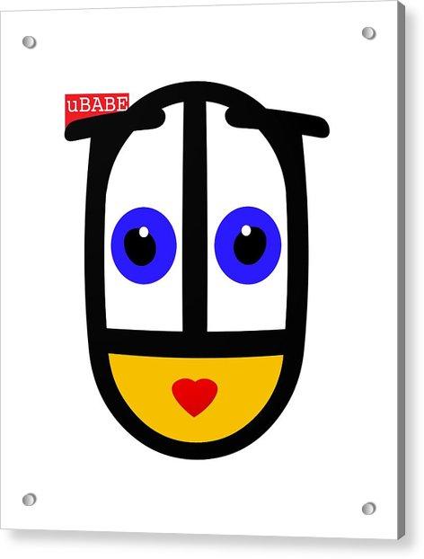 uBABE Logo Acrylic Print