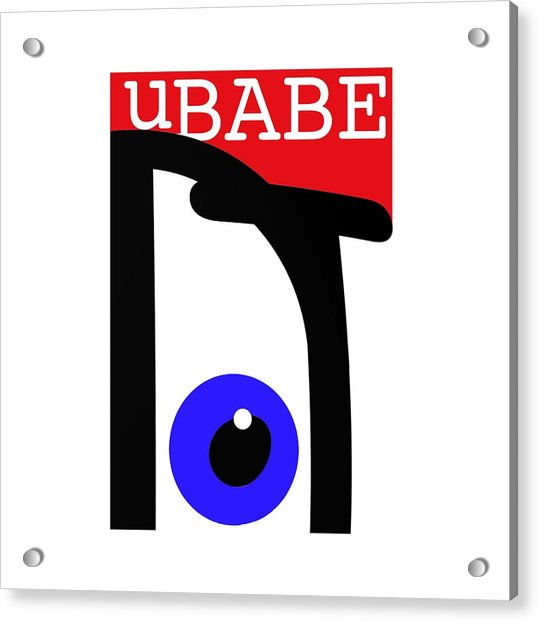 uBABE Acrylic Print