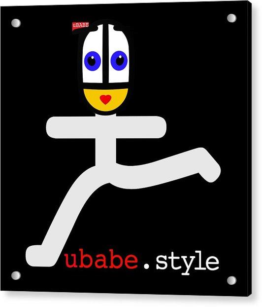 Ubae Style Runner Acrylic Print