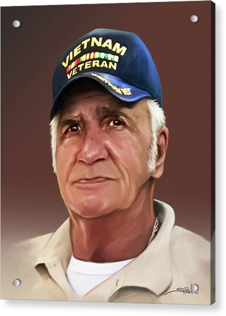 Uncle Poppy By Spano Acrylic Print