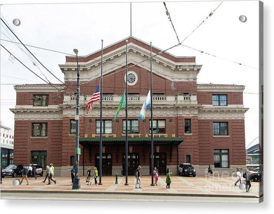Union Station Seattle Washington R1480 Acrylic Print