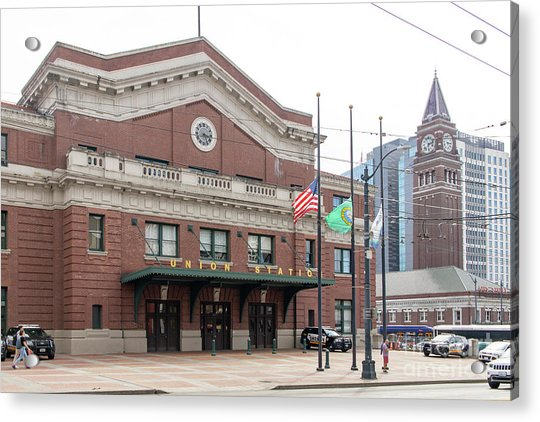 Union Station Seattle Washington R1482 Acrylic Print
