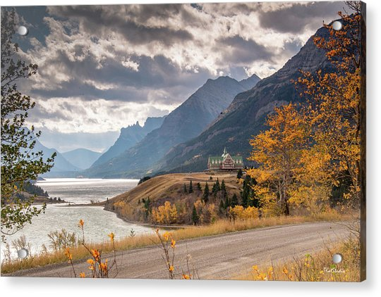 Upper Waterton Lakes Acrylic Print