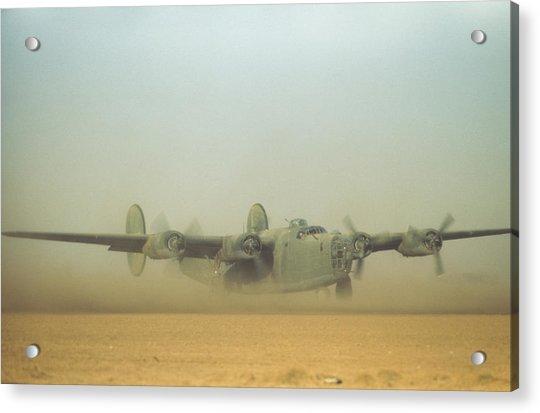 U.s Air Force In  Benghazi Libya Acrylic Print by Michael Ochs Archives