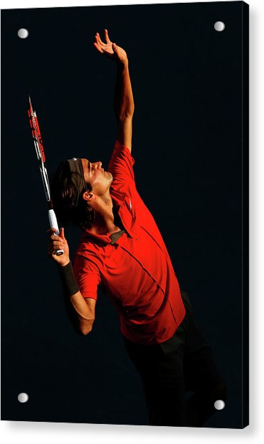 U.s. Open - Day 9 Acrylic Print by Al Bello