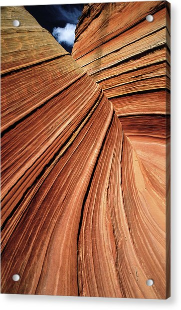 Usa, Arizona, Vermilion Cliffs National Acrylic Print by Philippe Bourseiller