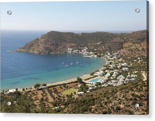 Vathi Bay Sifnos Greece By Y Dragon