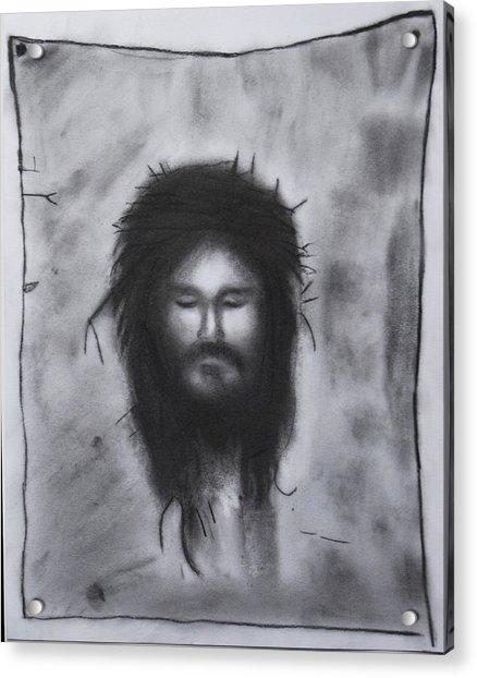 Veronica's Veil Acrylic Print