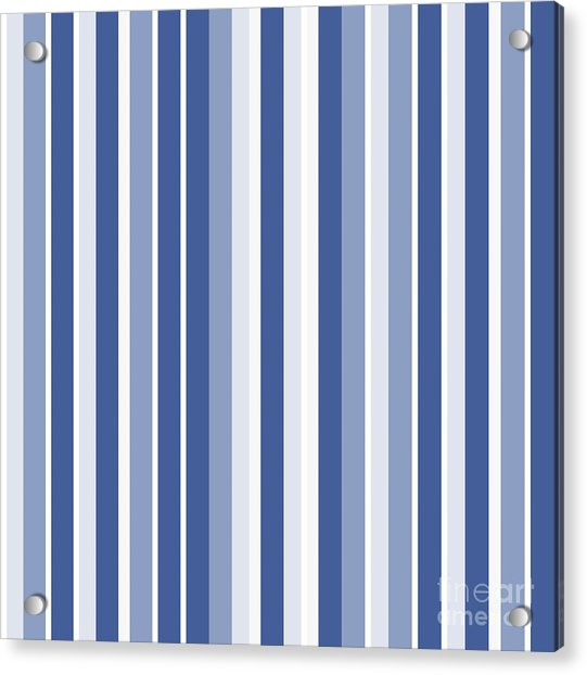 Vertical Lines Background - Dde605 Acrylic Print