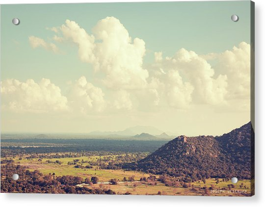View From Mihintale Acrylic Print
