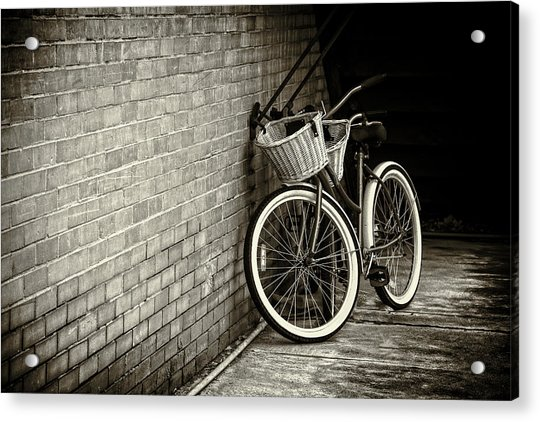 Vintage Bicycles Acrylic Print