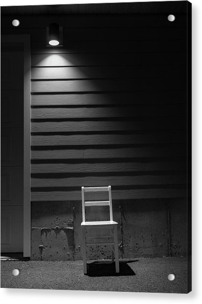 Waiting / The Chair Project Acrylic Print