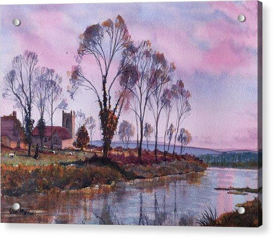 Waiting For Sunset Acrylic Print