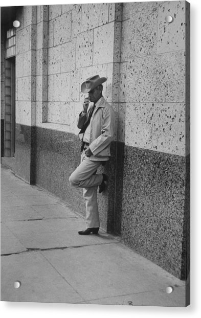 Walter Russellgeorge Parr Misc Acrylic Print by John Dominis