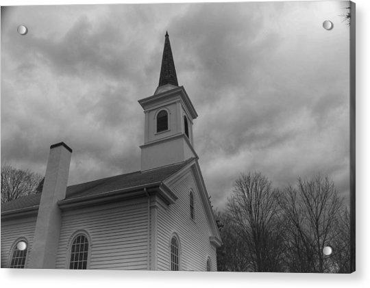Waterloo United Methodist Church - Detail Acrylic Print