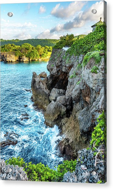 Welcome To Portland Jamaica Acrylic Print