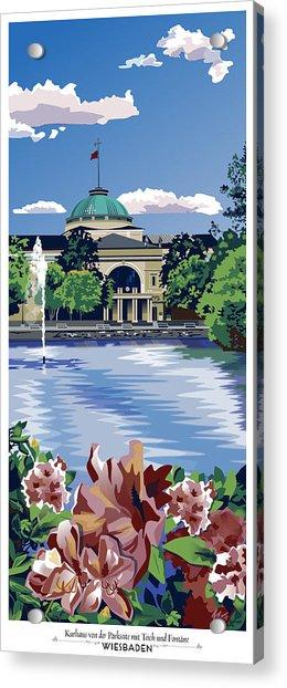 Wiesbaden Kurhaus Acrylic Print