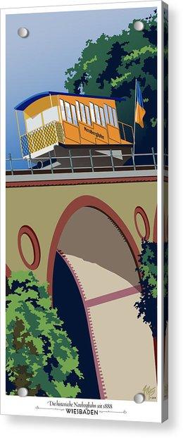 Wiesbaden Nerobergbahn Acrylic Print