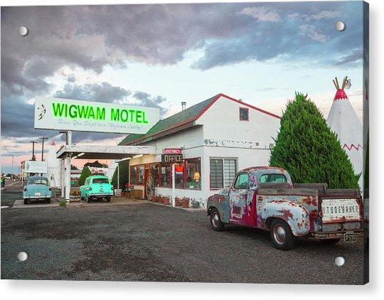 Wigwam Motel, Route 66, Holbrook Acrylic Print