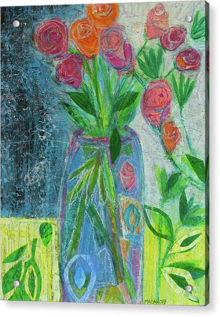 A-rose-atherapy Acrylic Print