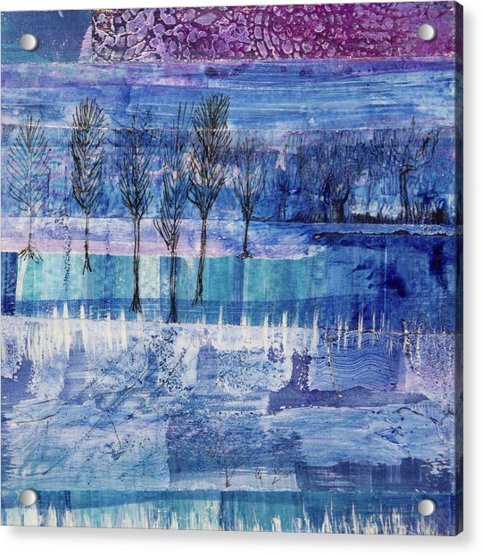 Winter Blues 1 Acrylic Print
