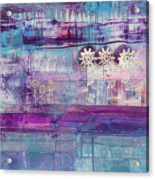 Winter Blues 2 Acrylic Print