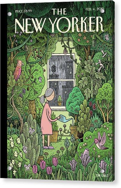 Winter Garden Acrylic Print