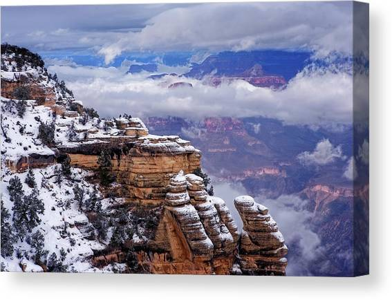 Mather Point Canvas Prints Fine Art America